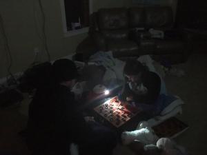 flashlight checkers